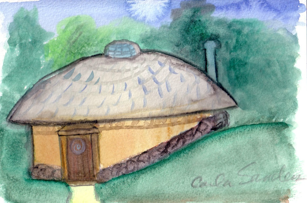 Peace Chamber watercolor Sept 21