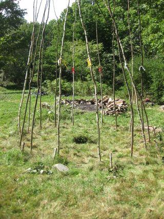 Lodge poles