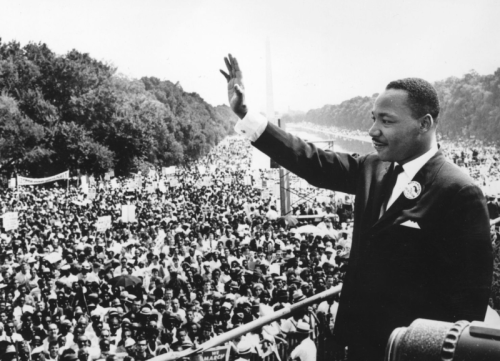 MLK crowd
