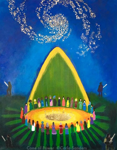 Cone of Power by Carla Sanders web